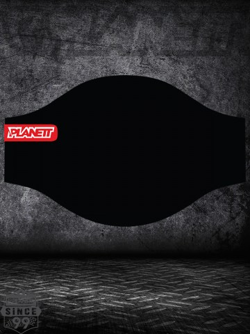 Planett Facemask BLACK-3