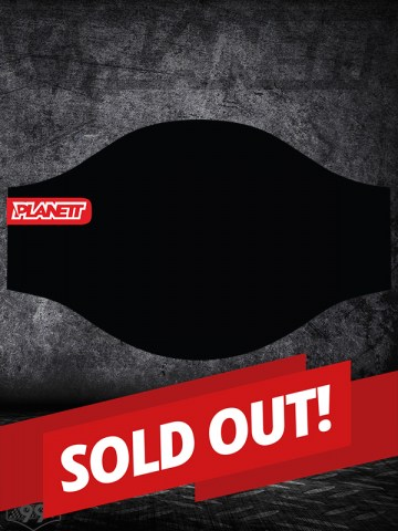 Planett Facemask BLACK-sold out